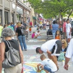 'Chalk It Up!' theme of July's First Friday