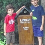 Mary's 'little library' keeps kids reading