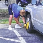 Parking permit purchases up