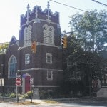 Delaware Warming Center for homeless men at Zion United Church of Christ