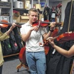 Delaware Hayes student's Scout project all about music