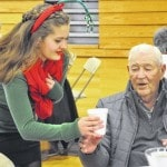 Buckeye Valley students host a holiday lunch for seniors