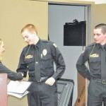 Delaware County prosecutor honors first responding DACC students