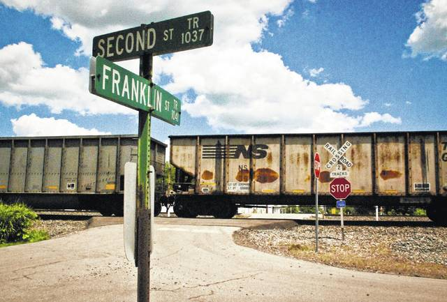 """The Ohio Rail Development Commission is asking Orange Township trustees to close the Franklin Street railroad crossing. After conducting a railroad crossing study in 2012, the ORDC has determined the crossing has a low vehicle count and is redundant crossing. One ORDC official told trustees, """"a closed crossing is a safe crossing."""""""