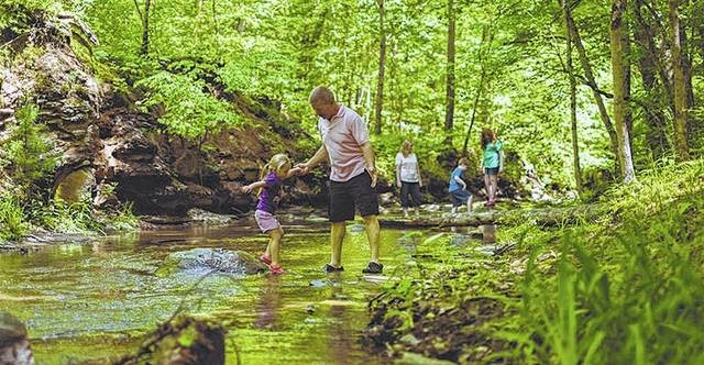 "Shale Hollow Park is one of the field trip destinations during the upcoming ""UNDER Ground Geology Trips"" workshop June 28-29. Delaware Soil & Water Conservation District is sponsoring two workshops for educators in June and July."