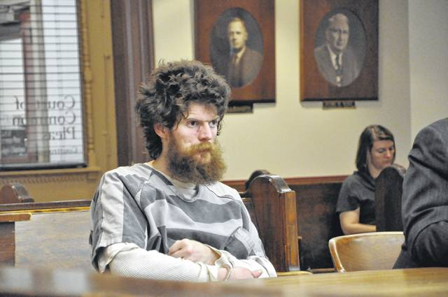 Christopher M. Richardson, 27, of Ashley, was sentenced to four years in prison after pleading guilty to one count of aggravated arson, a first-degree felony. He set fire to his home in Ashley on Jan. 28 of this year while his mother was still inside. She survived.