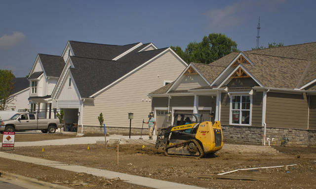 This year's BIA Parade of Homes features nine homes built by Central Ohio builders priced in the $600,000 range. Builders are working hard to finish the interiors and landscaping in time for the Sept. 2-17 show.