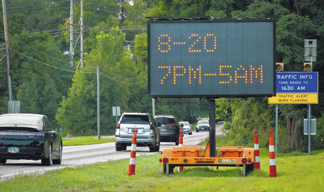 Traveling between Delaware and Interstate 270, motorists will see flashing signs stating that the resurfacing of State Route 315 begins Aug. 20. The Ohio Department of Transportation said the project is scheduled for completion by Oct. 30, weather permitting.