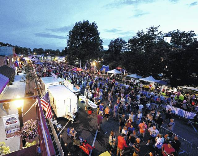 Sunbury Sizzle & Sounds returns for its eighth year on Saturday. The festival will run from 11 a.m. to 11 p.m. in the village square. For more information, visit www.sunburysizzleandsounds.com.