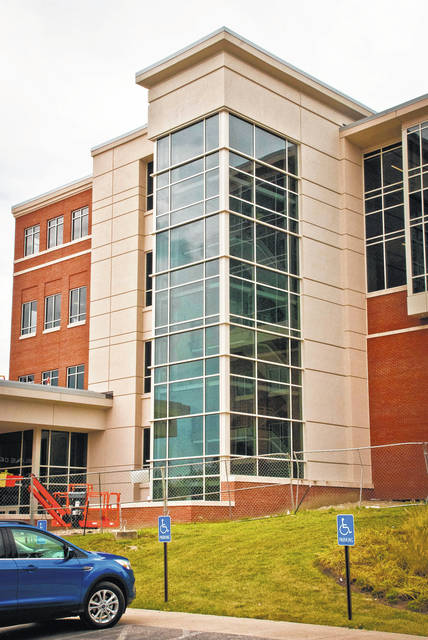 Delaware County commissioners accepted a certificate of substantial completion Thursday from the construction management company, Lendlease, for the new Delaware County Courthouse. According to Jon Melvin, facilities director, the building now has a temporary occupancy permit.