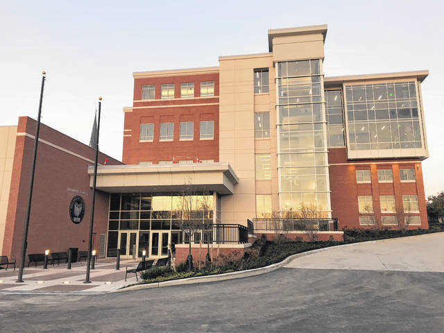 The new Delaware County Courthouse will open for business on Monday, Nov. 6, according to county officials. A flag-raising ceremony is planned for 7:45 a.m. on Nov. 6 at the new entrance facing North Union Street. A public open house will be held on Sunday, Dec. 3 from 2 to 4 p.m.