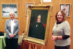 Homecoming for the judge: Portrait donated to Delaware County Historical Society