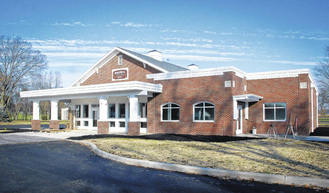 The trustees of Brown Township will dedicate the new township hall Sunday, Nov. 12 at 3 p.m. with a ribbon-cutting ceremony. Construction of the hall was made possible by a $1.1 million gift from the Charles and Betty Sheets Fund of the Delaware County Foundation.
