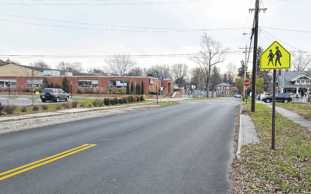 The City of Delaware Parking and Safety Committee voted in favor of recommending to City Council that the west side of Channing Street between East Central Avenue and East William Street, right side of picture, be a no parking zone on school days only between the hours of 7 a.m. and 4 p.m.
