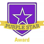 Liberty Middle School receives inaugural Purple Star Award