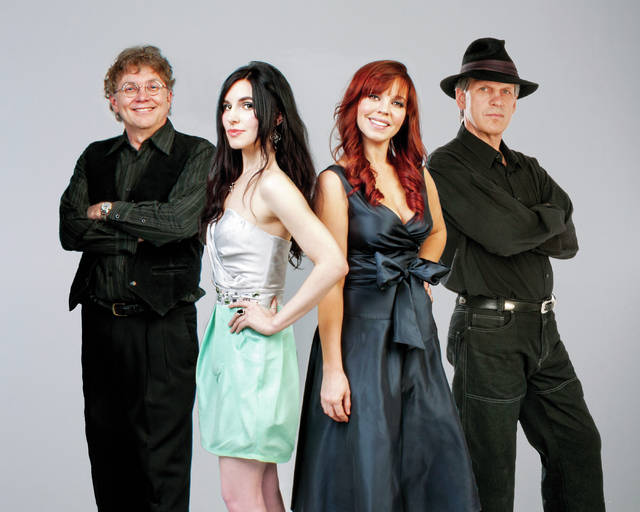 Celtic band Lone Raven will perform with the Central Ohio Symphony during the Symphony's holiday concerts on Sunday, Dec. 10 at Ohio Wesleyan University's Gray Chapel. Showtimes are 2 p.m. and 4:30 p.m. Members of Lone Raven are, from left, Craig Markley, Kara Markley, Elizabeth Blickenstaff, and Neil Jacobs.