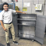 DACC welding students show off semester projects