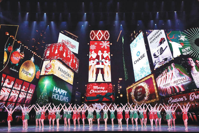 "This Nov. 7, 2017 photo released by Madison Square Garden shows the dress rehearsal for the ""Radio City Christmas Spectacular,"" currently performing through Jan. 1 at Radio City Music Hall in New York."