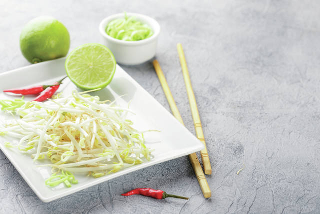Raw or undercooked sprouts pose a risk of foodborne infection because, unlike other fresh produce, seeds and beans need warm and humid conditions to sprout and grow. Bacteria that can make you sick, including Salmonella, Listeria and E. coli thrive in such warm and humid conditions.