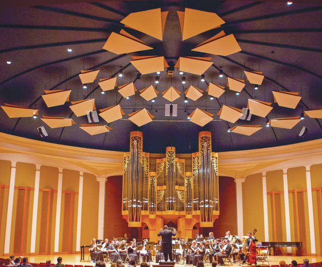 The community is invited to attend a free concert on Saturday, Jan. 20 performed by participants in the Ohio Wesleyan University President's High School Band Festival. The concert begins at 7 p.m.