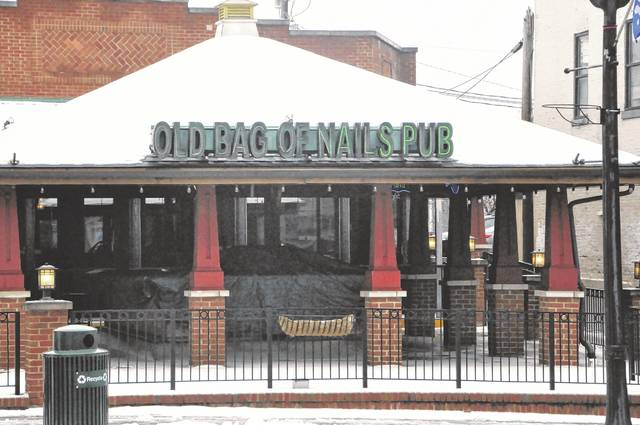 City of Delaware police are investigating a robbery that occurred Monday morning at the Old Bag of Nails Pub on North Sandusky Street in downtown Delaware. No injuries were reported. The male suspect escaped with an undisclosed amount of cash.