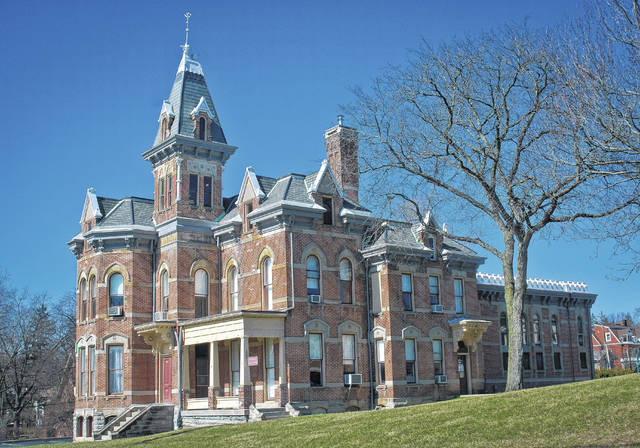 Commissioners on Monday authorized County Facilities Director Jon Melvin to advertise the historic Delaware County Jail for sale. The old Queen Anne-style building is currently the home of the county's law library, but commissioners said it can be moved if the county sells the property.