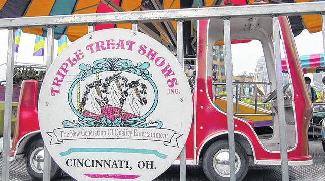 When the 2018 Delaware County Fair kicks off in September, it will do so with a new company in charge of the rides. Triple Treat Shows of Cincinnati will operate the rides this year after the owners of Bates Amusements, Inc. — the fair's previous ride operators —announced last year they were leaving the business.