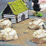 Students create historical model