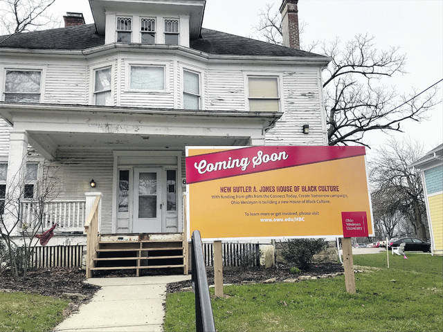 The existing Butler A. Jones House of Black Culture will soon give way to a new building on the same lot.