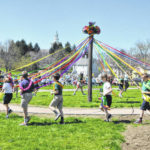 St. Mary students celebrate May Day