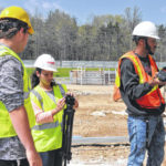 DACC students film construction updates