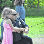 Fishing with cops