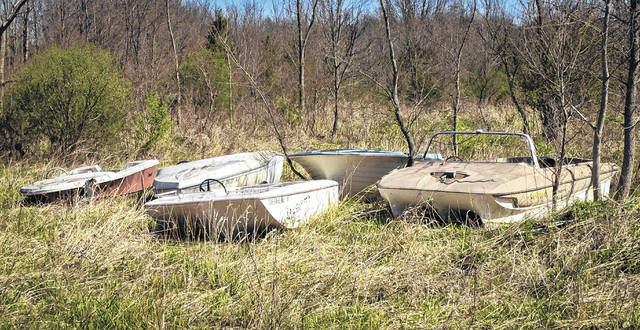 Further back on the property of the old junkyard in Berlin Township sits some abandoned speedboats. According to Michael Shade, attorney for Savko Brothers Properties, even though the referendum failed Tuesday to rezone the property to Planned Industrial, Savko is committed to keeping his promise of cleaning up the property.