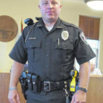 Sunbury police officers sporting new uniforms