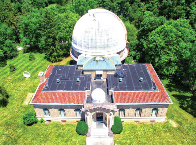 """Ohio Wesleyan's Perkins Observatory will host daytime """"Celebration of the Sun"""" events at 4 p.m. July 14, 21, and 28. The afternoon celebrations will replace the observatory's Friday night skywatches throughout the month"""