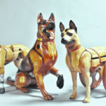 Wounded canine display raises awareness