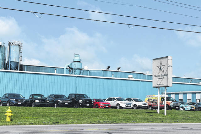 The Liberty Casting Company, 550 Liberty Road in Delaware, was the site of an explosion on Tuesday night that injured several workers.