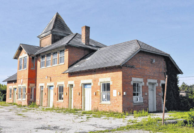 Pictured is the old train station located at 60 Lake St. in Delaware.