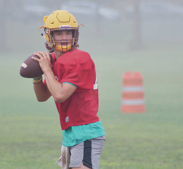 Buckeye Valley senior quarterback Grant Owens returns as the Mid-Ohio Athletic Conference's leading passer from a year ago. He threw for 1,652 yards and 14 touchdowns.