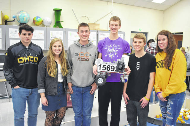 Hayes Robotics Team Headed To State Delaware Gazette