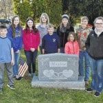 4-H club recognizes vets at Sunbury cemetery