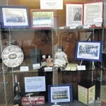 Bicentennial display at Community Library