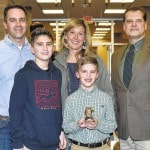 Harrison's Colton McKee student of the month