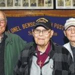 WWII vets recognized at Legion lunch