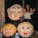 Political Trio 'Pumpkinized' by Artist Jeanette Paras