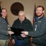 BW Athletic Trainers recognized at council