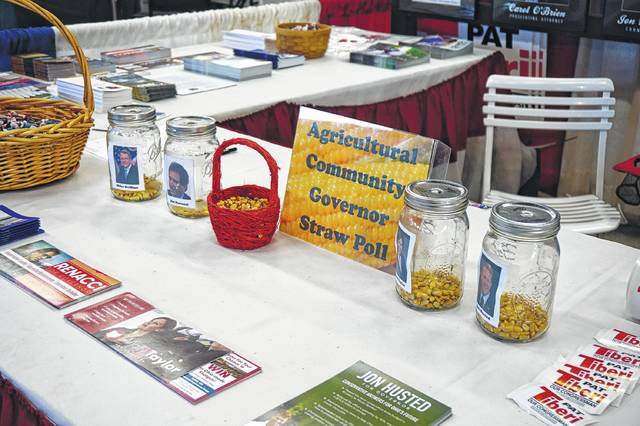 The Delaware County Republican Party had this corny poll for Governor.