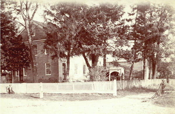 Photo is late 1800s of Center Inn. The girl in front is Carolyn Carpenter, granddaughter of the Gilbert Van Dorns.