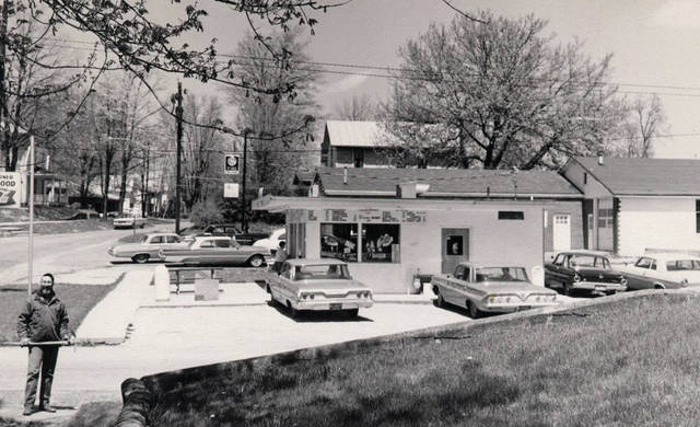 Photo is Creme Corner taken in 1966.