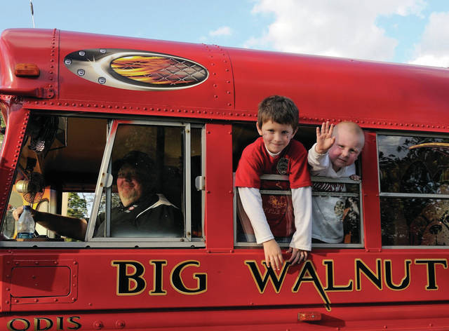 Odis drove the equipment bus to the away football games for over 25 years on Friday nights, blasting the music. Odis loved this responsibility. The smile on his face emulates his love for Big Walnut Athletics.
